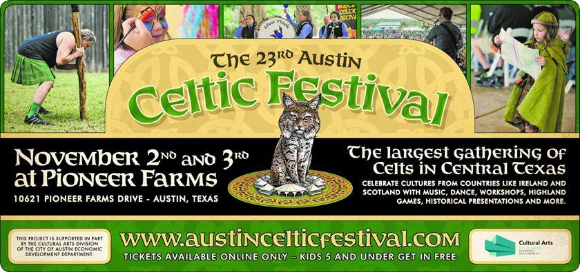 Austin Celtic Fest - 11/2