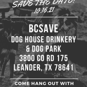 BCSAVE BROUHAHA - DOG HOUSE DRINKERY (LEANDER)